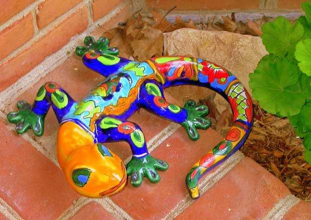 Gekon je pro Mexiko typický ve všech podobách, freeimages.com, M. Zajdowicz