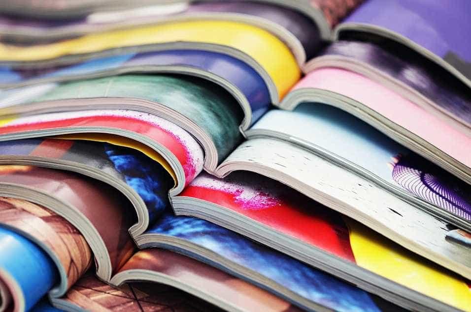 Knihy, časopisy a internetové blogy vám pomohou udělat si obydlení jasnou představu, pixabay.com