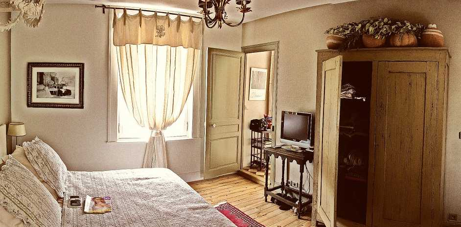 Ložnice v retro stylu, pixabay.com
