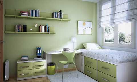 Střízlivý pokoj pro studenta, flickr.com
