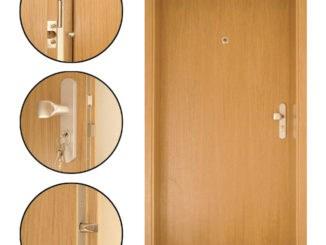 Protipožární vchodové dveře